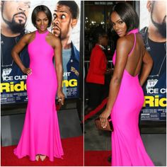 inspir actress, sumpter ride, black beauti, michael ealy, beauti peopl, tika sumpter, sew inspir, movi premier, costello gown