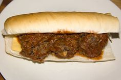 Busy Mom's Meatball Subs -- tip: buy Jimmy John's Day Old Bread