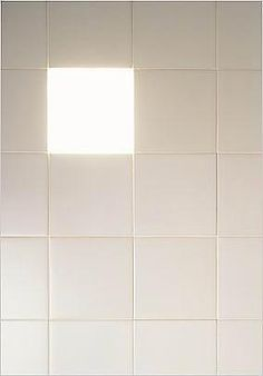 Tile light by Naoto Fukasawa