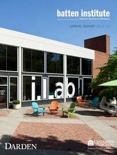 Batten Institute Annual Report 2012-13