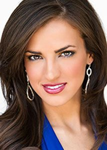 Miss Louisiana 2012 Lauren Vizza. Education: Caddo Magnet High School, Louisiana Tech University. Platform Issue: Be a S.T.A.R. Scholastic Ambition: To obtain a Juris Doctorate. Talent: Dance. Full Bio: http://ow.ly/eqMQs