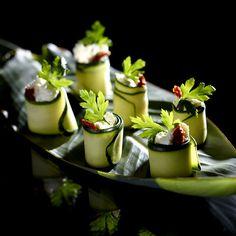 Roladki z cukinii - Kuchnia Lidla
