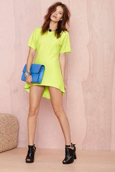 About Lime Dress