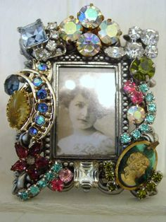 lots of vintage jewelry projects- use the jewelry I have from grandma t- then I can display it instead of it hidden in the jewelry box!