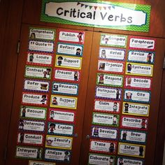 Critical Verbs of the Common Core - Posting these for your students to practice, reference and master through the year is a MUST!! $ #wildaboutfifthgradde