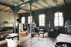 industrial interior design - Google Search