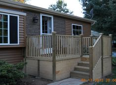 Double Wide Exterior Remodel with #Porch - Mobile & Manufactured Home Living