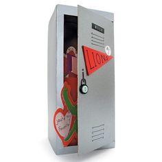 Valentines Day locker card holder