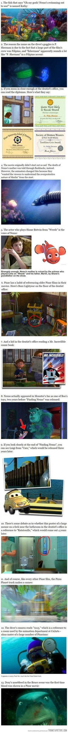 Facts About Finding Nemo…