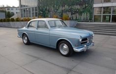 Blue Volvo Amazon