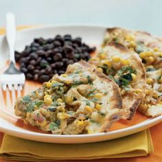 Our 25 Most Popular Chicken Recipes  | Chicken and Summer Vegetable Tostadas | MyRecipes.com