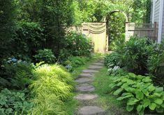 side yard shade garden