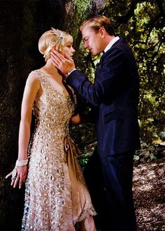 "Carey Mulligan & Leonardo DiCaprio in ""The Great Gatsby"""