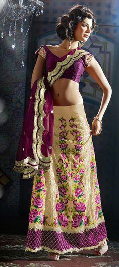 106774: Floral #lehenga #Bridesmaid style