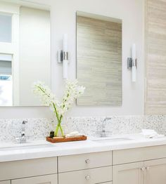 Find the perfect bathroom sick to fit your style and your space: http://www.bhg.com/bathroom/type/master/every-style-master-suites/?socsrc=bhgpin102513vanity&page=3