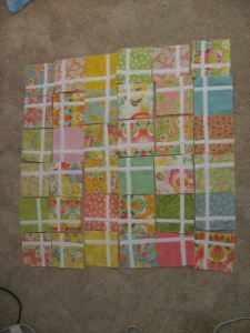 Charming Charm Pack Quilt requiring only 1 charm pack. Make it!