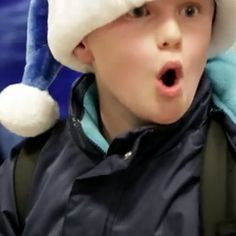 "One Airline Makes a Christmas Miracle Happen for Everyone Onboard - This is SO worth the watch. Santa asks everyone onboard what they want for Christmas and then WestJet ""elves"" scramble to make it all happen before the flight lands."