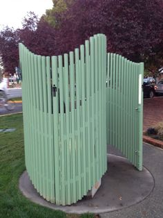 Outdoor public toilet in Victoria Australia