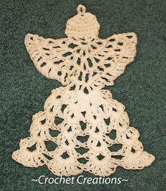 Ravelry: Crochet angel ornament pattern by Amy Lehman