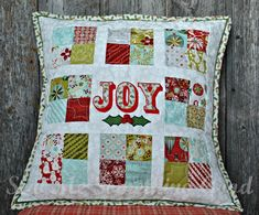 (7) Name: 'Quilting : Oh, Joy! Patchwork Pillow