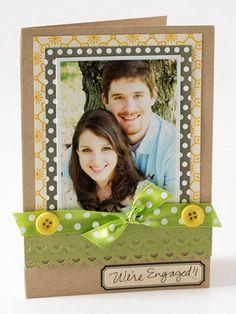 Engagement Photo Card