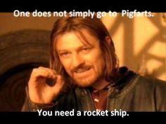 Do you have a rocketship Potter?!