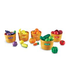 Farmers Market Color Sorting Set   zulily