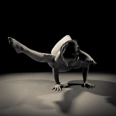 beautiful yoga, arm balance, B photo