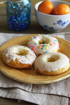 Baked Meyer Lemon Doughnuts
