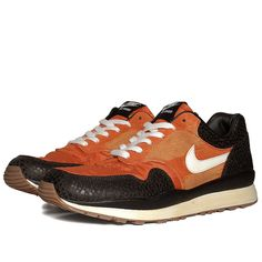 Nike Air Safari Vintage  Mesa Orange & Black Tea