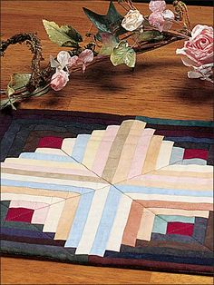Quilting - Classics - Sunshine & Shadow Quilted Table Runner Pattern