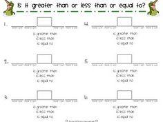 teach math, school, greater thanless, gradewith alligatorslov, worksheet, game, educ, math idea, 1st gradewith