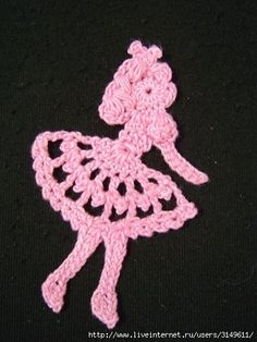 Ballerina applique with FREE diagram.  Scroll down page for diagram.