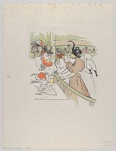 After Henri de Toulouse-Lautrec (French, 1864–1901). Skating, from Le Rire, No. 62, 11 January 1896, 1896. The Metropolitan Museum of Art, New York. The Elisha Whittelsey Collection, The Elisha Whittelsey Fund, 1962 (62.650.233) #olympics #iceskating