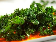 "Kale ""Chips"" : Recipes : Cooking Channel"