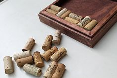 DIY Wine Cork Trivet Kit  Reclaimed Distressed Wood Craft Kit