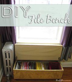 DIY File Bench