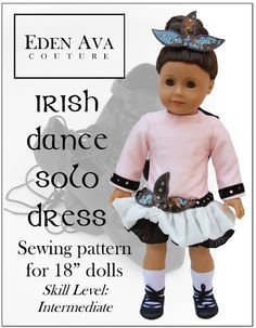 Irish Dance Solo Dress!