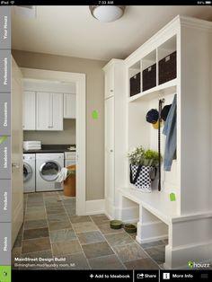 bootmud room, mudroom, room organization, mud rooms, laundry area, laundry rooms, room storage, closet, laundri room