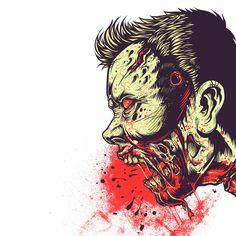 Zombie Frenzy « Daily T-Shirts