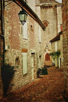 Martel, a beautiful small village in Lot, France