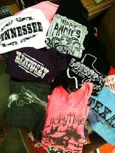 Pistol Annie T's :) love these girls style