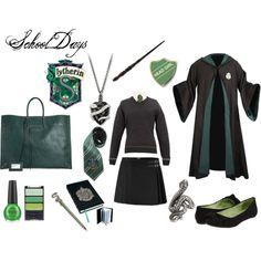 Slytherin School Days, created by heroandluna (me)