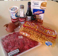 Crockpot Beef Stroganoff: