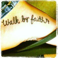 font, walk