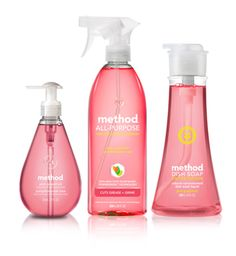 This is a pretty good brand. $11.97 method pink grapefruit home care kit #methodholidayhappy