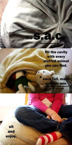Quality Sewing Tutorials: Stuffed Animal Storage Chair tutorial by Googie Mama