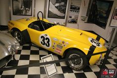 #Yellow Shelby Cobra