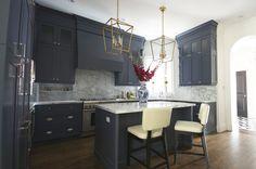 Navy Kitchen #cabine