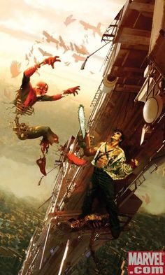 Ash vs Marvel Zombie